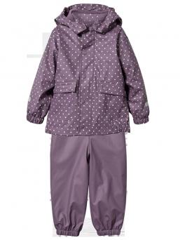 Rubber rain set with fleece (luumu) |T2H