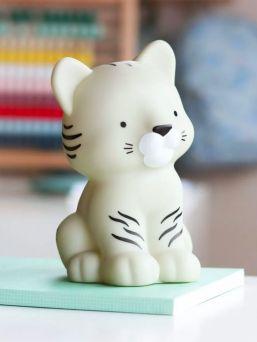 Tiikeri yövalo, valkoinen