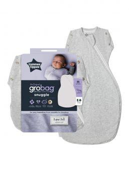 Tommee Tippee merkin Grobag Snuggle kapalo, jonka saat nopeasti ja vaivattomasti muunnettua unipussiksi. Kapaloinnista unipussiin siirtyminen käy helposti.