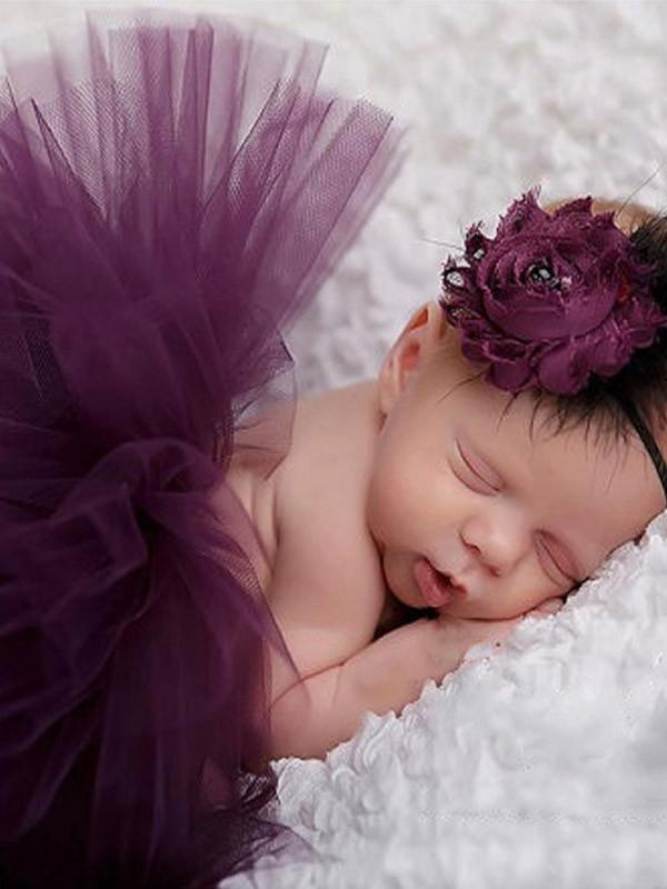 Tutu + hiuspanta (violetti)