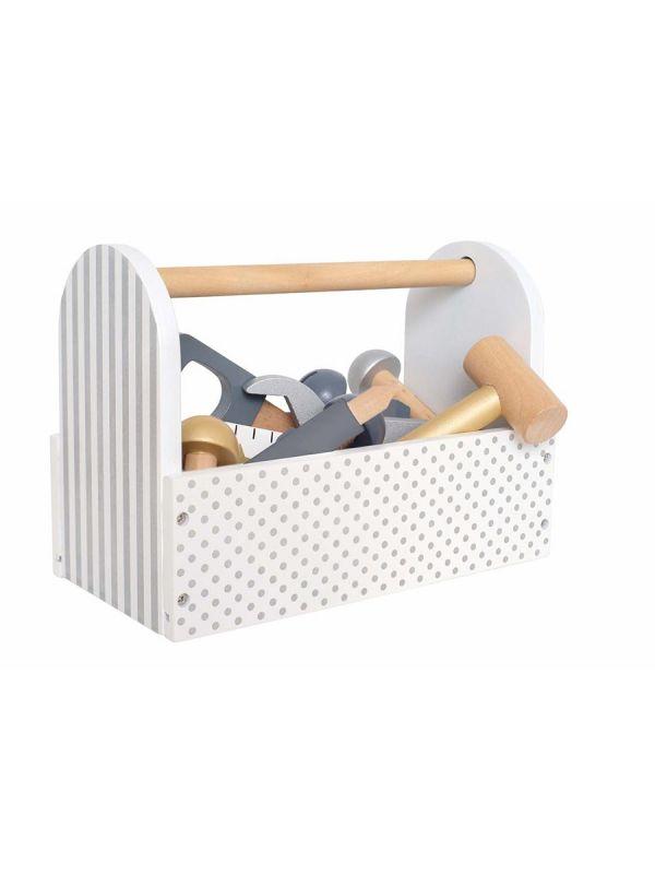 Paras lahja pienelle puusepän alulle - JaBaDaBaDo-työkalupakki.