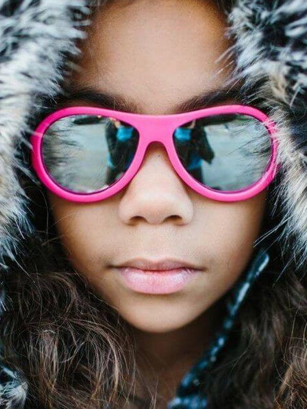 Babiators Aces aurinkolasit 6-14v (pinkki peili linsseillä)