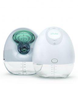 Elvie Pump Double hands free rintapumppu joka on äänetön ja langaton. Kulkee rintaliiveissä mukana. Uutta teknologiaa jota äidit jonottavat.