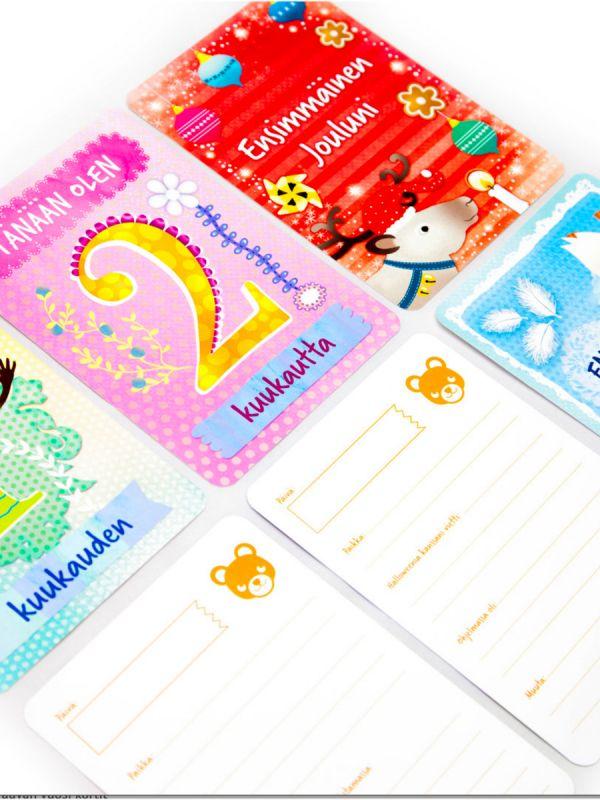 Vauvan vuosi - korttipakka   CAMALA
