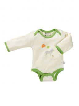 Laadukas ja pehmoinen body vauvallesi. Soija luomupuuvilla hellii vauvasi ihoa ja alaosan nepparit helpottavat vaipanvaihtoa.