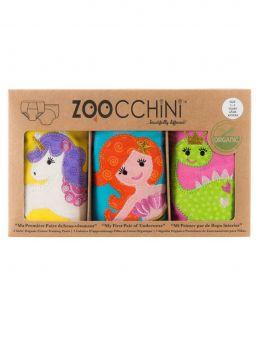 Zoocchini-harjoitteluhousut 3 kpl Fairy Tails