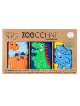 Zoocchini-harjoitteluhousut 3 kpl Jurassic Pals