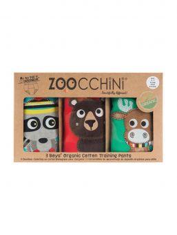 Zoocchini-harjoitteluhousut 3 kpl Forest Chums
