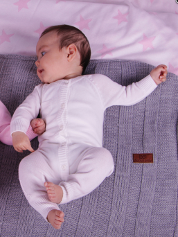 Baby's Only vauvan neulehaalari (rosa)