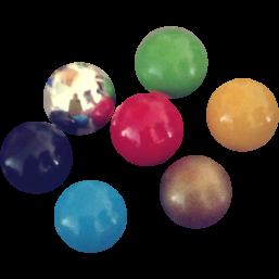 BOLA - kehikkopallot 20mm (useita värejä)