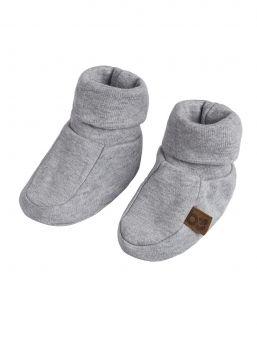 Baby's Only vastasyntyneen luomupuuvillatossut, Grey Melange