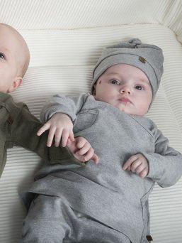 Baby's Only vastasyntyneen luomupuuvillapipo, Grey Melange