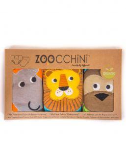 Zoocchini-harjoitteluhousut 3 kpl Safari Friends pojille