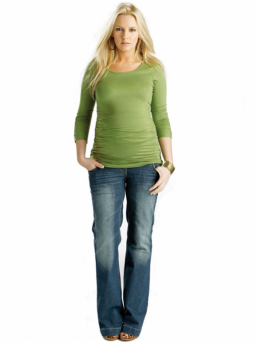 Äitiysfarkut Vintage Jeans - FUNMUM