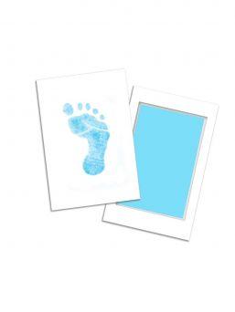Mustelevy vauvan jalanjäljille