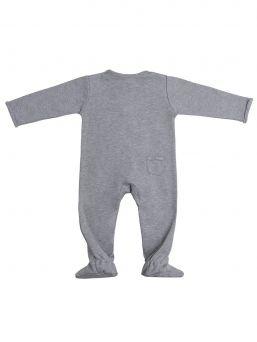 Baby's Only terällinen potkupuku vauvalle, Grey Melange