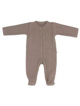Baby´s Only luomupuuvillainen vauvan potkupuku. Potkupuvussa pitkät hihat ja nepparikiinnitys