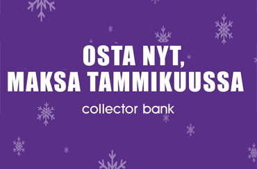 COLLECTOR BANK JOULU BANNER